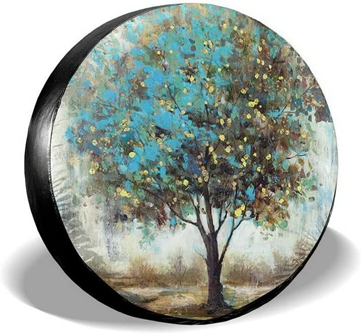 NIUYUAN Abstract Tree Spare Tire Wheel Waterproof Type Dus Cover Limited Cheap sale Special Price