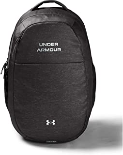 Under Armour Unisex-Adult UA Hustle Signature Backpack, Grey, One Size