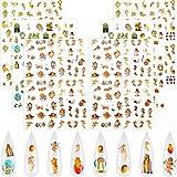6 Blätter Weihnachten Nagelkunst Aufkleber Engel Muster Aufkleber Engel Aufkleber Baby Engel Barock Nagelkunst Aufkleber Selbstklebende Nagel Abziehbilder für Nägel Design Maniküre Spitzen