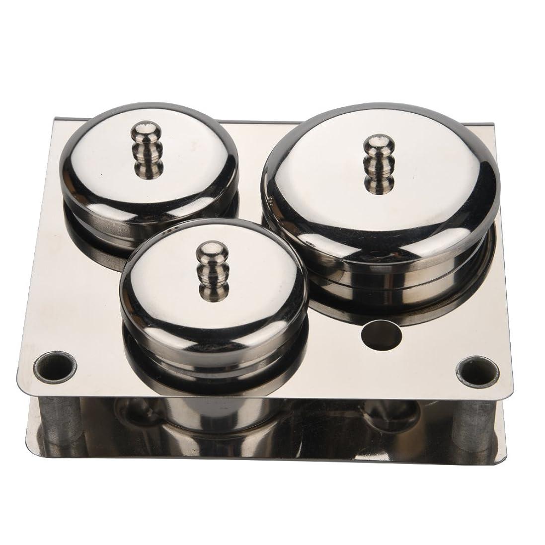 繊細抹消飲料3本ネイルアートミニパウダー&リキッドセット缶ボックス