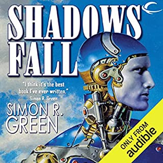 Shadows Fall audiobook cover art