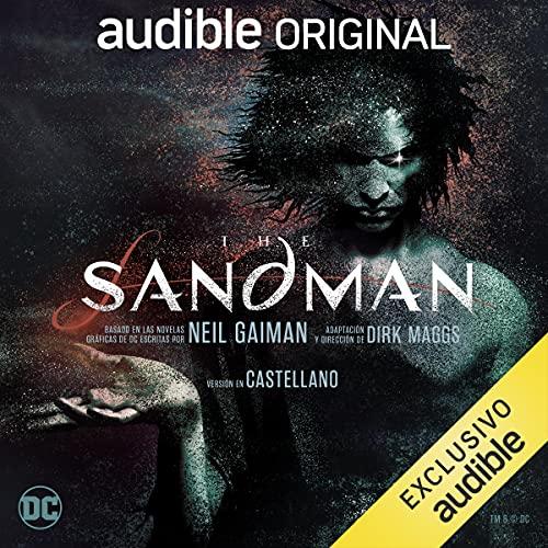 Diseño de la portada del título The Sandman