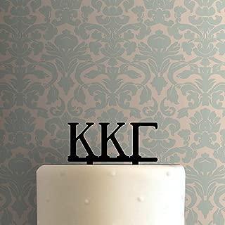 Custom Greek Alphabet Acrylic Cake Topper For Wedding Birthday Party Graduation Decor