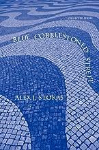 أزرق cobblestoned الشارع