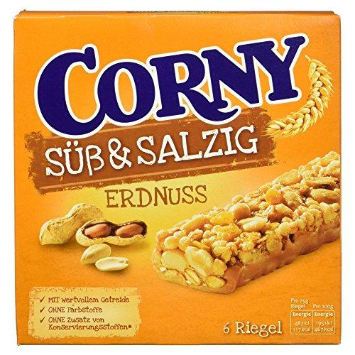 Corny Süß und Salzig Erdnuss 6er, 150 g