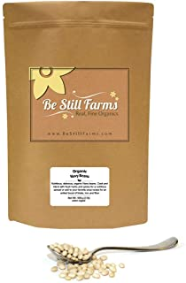 Be Still Farms Organic Navy Beans (5lb) Dried Navy Beans Bulk Are Naturally No Salt Beans - Easy to Prepare Dried Navy Bea...