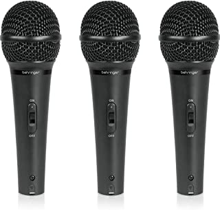 Behringer Ultravoice XM1800S Dynamic Cardioid Vocal و Instrument میکروفون ، مجموعه 3