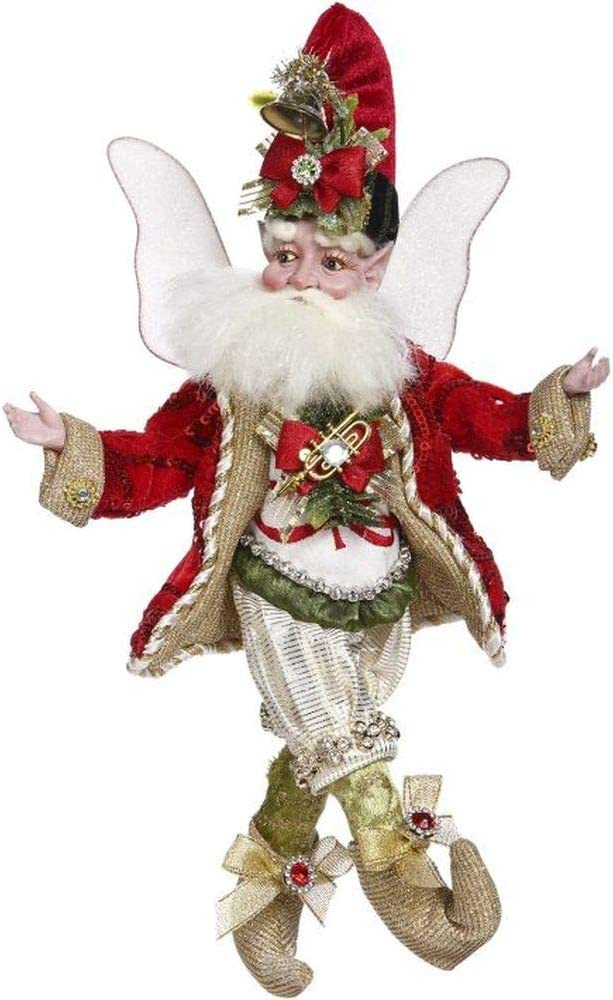 Mark Roberts 2020 Limited Edition Collection Stocking Stuffing Fairy Figurine, Small 11'' - Deluxe Christmas Decor and Collectible