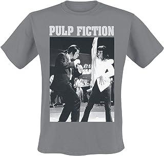 2581a6dd7e Pulp Fiction Dance T-Shirt Manches Courtes Gris