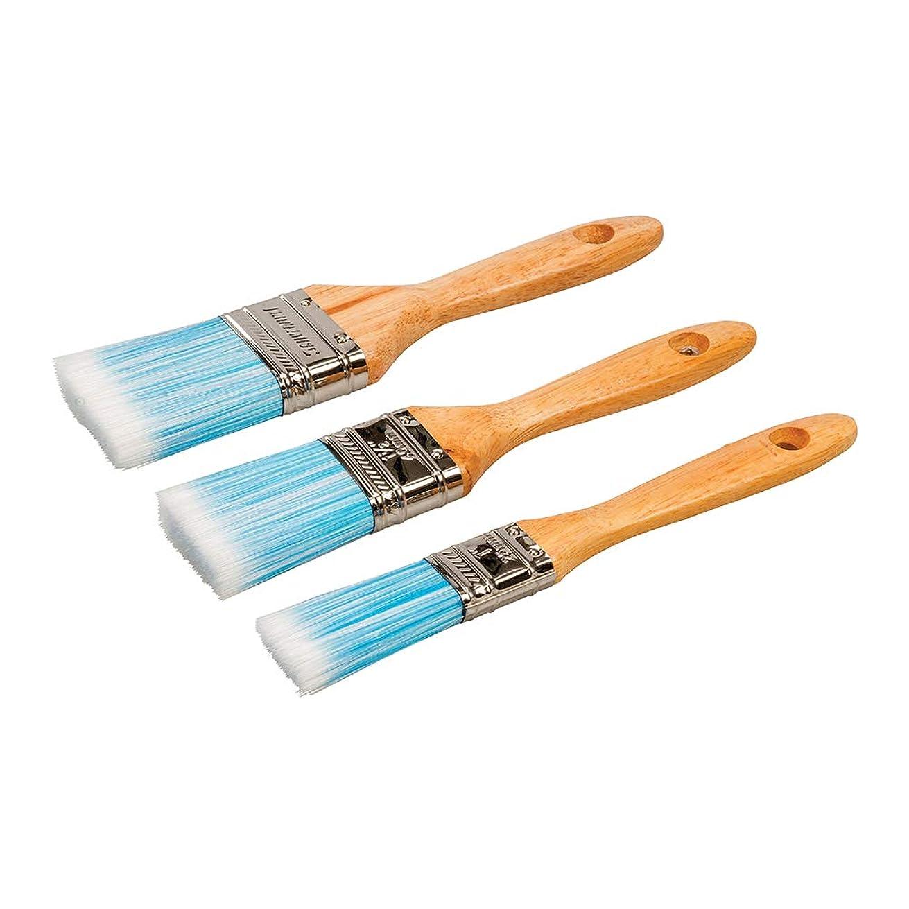 Silverline Synthetic Brush Set 3pce 3pce