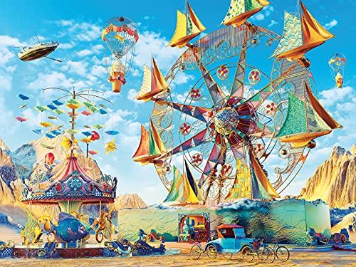 Ravensburger Carnival of Dreams, Puzzle 1500 pezzi, Relax, Puzzles da Adulti, Dimensione: 80x60 cm, Stampa di alta qualità, Fantasy