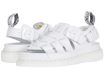 Dr. Martens 8092 ARC Mono (White) Shoes