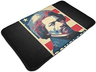 Huttgh Frederick Douglass América - Felpudo antideslizante para puerta de entrada de baño, cocina o piso, 19,5 x 31,5 pulg...