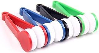 8 Piezas Microfibra Limpiador Gafas Cepillo, Mini Gafas Cepillo Limpiador, Cepillo de Limpieza de Gafas de Microfibra, par...