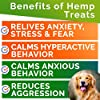 GOODGROWLIES Calming Hemp Treats for Dogs - Made in USA with Hemp Oil - Anxiety Relief - Separation Aid - Stress Relief During Fireworks, Storms, Thunder - Aggressive Behavior, Barking - 120 Chews #1