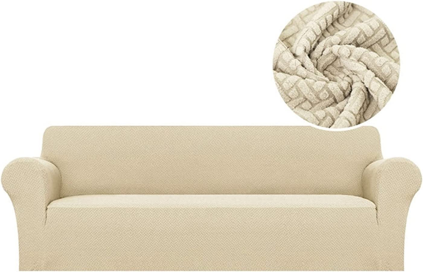 XUELINGTANG Jacquard Stretch Virginia Beach Mall Sofa Cover Elastic for Room Living Ranking TOP15