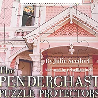 The Penderghast Puzzle Protectors audiobook cover art