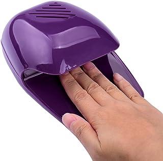 Bolayu Nail Art Polish Paints Dryer Portable Hand Finger Toe Blower Mini Tool (Purple)
