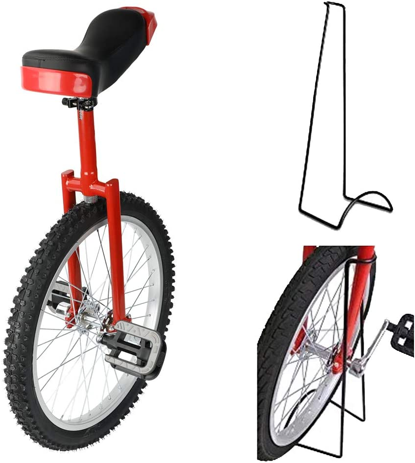 Triclicks 20 Unicycles Monociclo Onlyone Monociclo Alto Trainer per Bambini//Adulti Monociclo Regolabile in AltezzaBici di Bicicletta Esercizio dellequilibrio con Supporto Unicycle