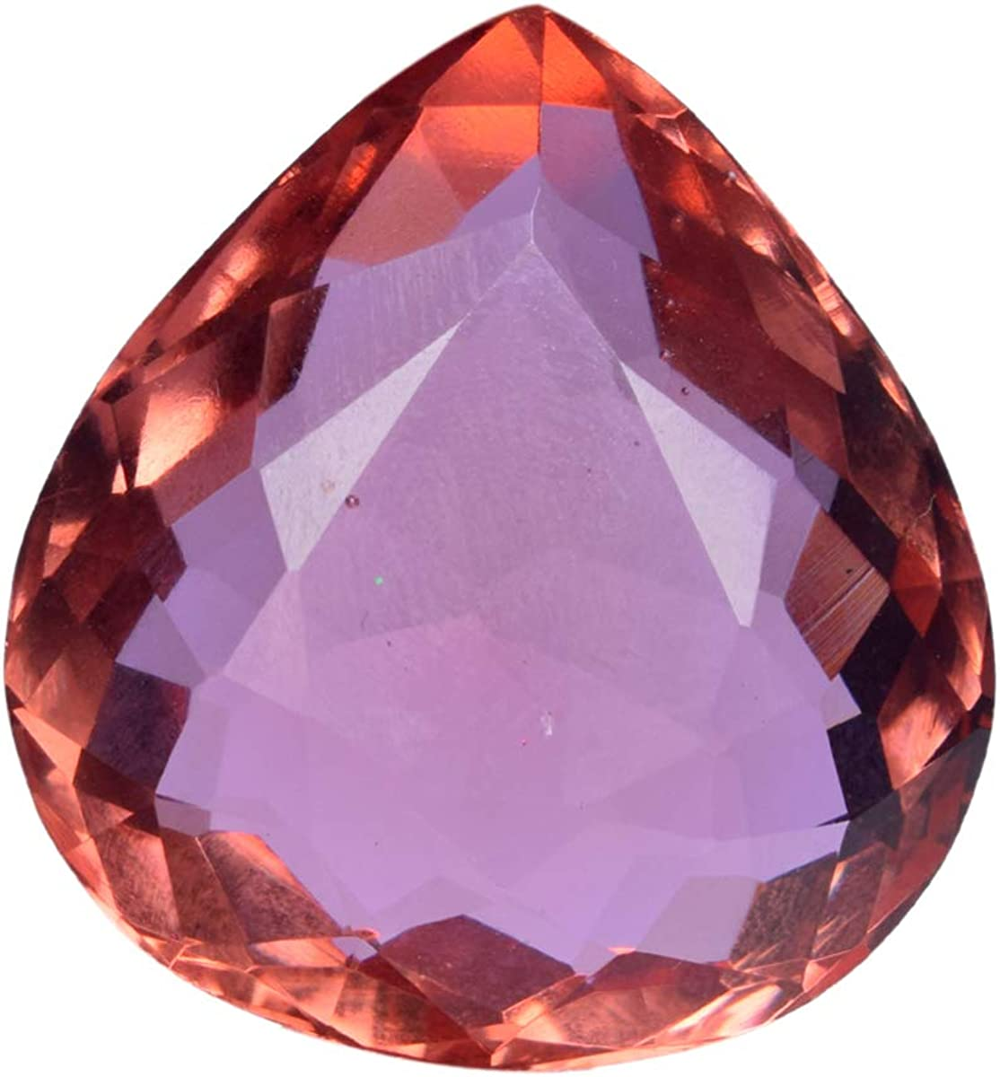 gemhub Alexandrite Color-Change Crystal 87.50 Ct Pear Color- Cut Great interest Same day shipping