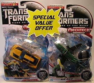 Transformers Mechtech Bumblebee Air Raid 2 Pack/Air Raid/Bumblebee