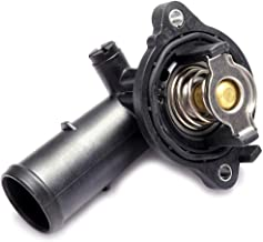 ECCPP 5184651AG Engine Coolant Thermostat and Housing Assembly Radiator CoolantThermostat Housing Equipment fit for Dodge Durango Jeep Wrangler Grand Cherokee