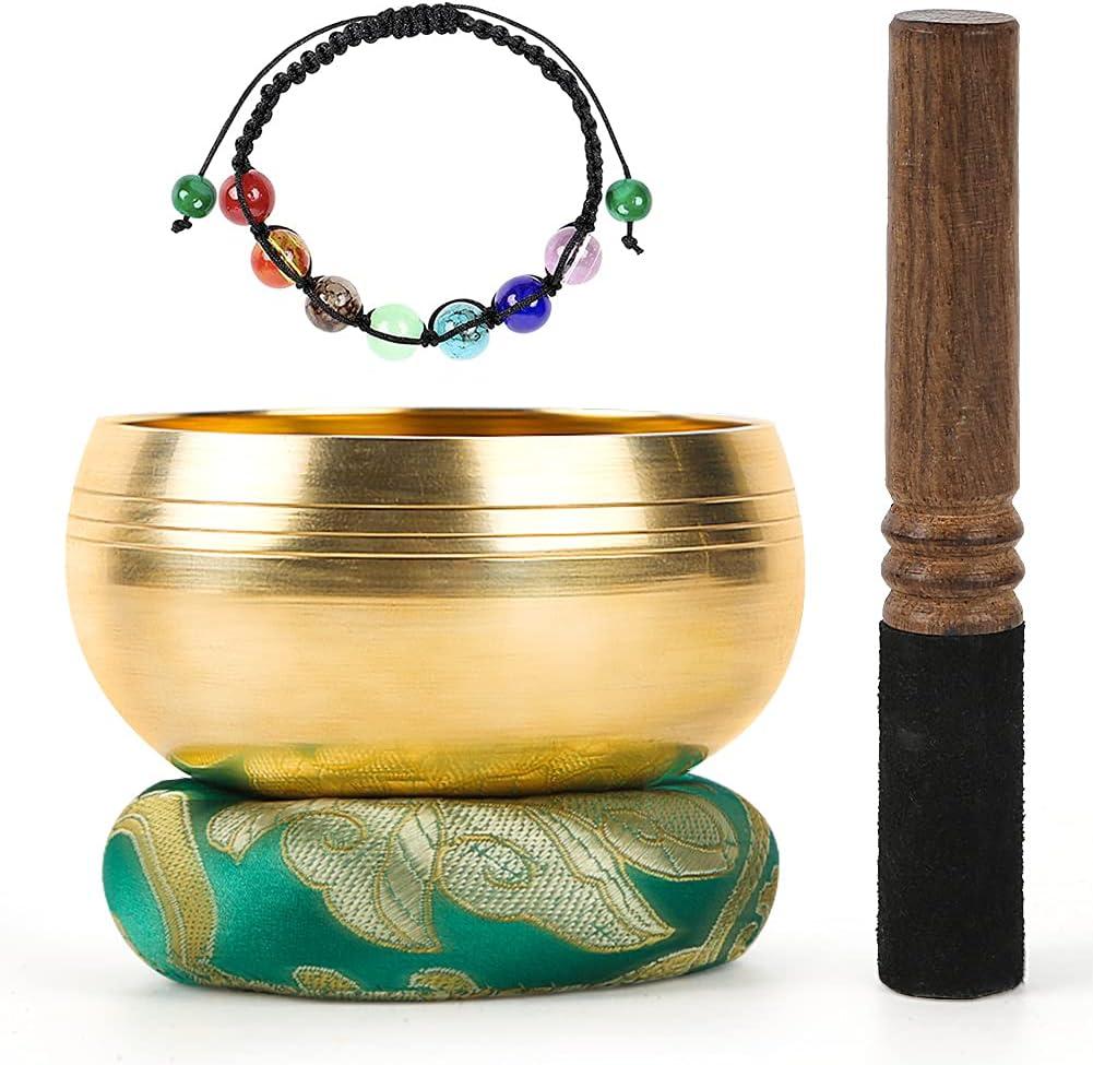 DomeStar Tibetan Singing Bowl Set Luxury Meditation Sound Me Challenge the lowest price