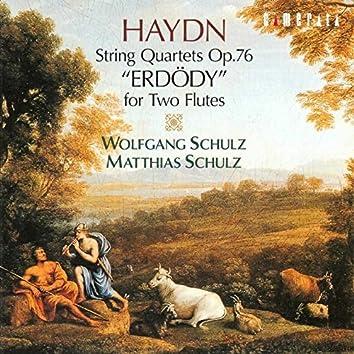 Haydn: String Quartets for Two Flutes (Erdödy)