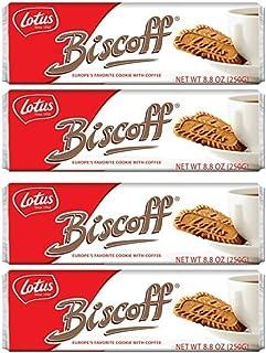 Biscoff Cookies Original Singles Pack (128 Cookies / 35.2 oz Total)
