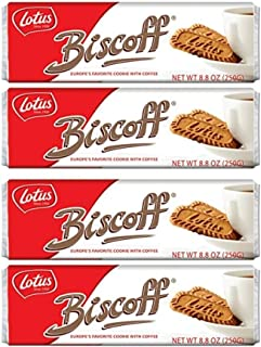 Biscoff Cookies Original Singles Pack (128 Cookies / 35.2 oz Total)
