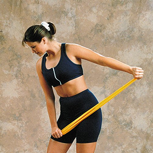 Fitnessbänder Widerstand   Training Fitness- -auch ideal für Reha-Übungen   Farbe: Grün   Intensität: 3