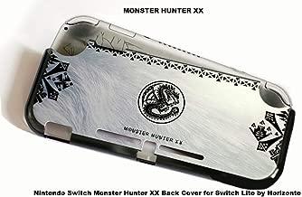 Horizonte Nintendo Switch Monster Hunter XX Back Cover for Switch Lite