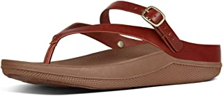 FitFlop Womens Flip Leather Toe-Thong