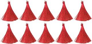 Prettyia 10/pack DIY Craft Tassels Earring Pendants Jewelry Making Accessories Bulk