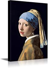 Best girl with a pearl earring print canvas Reviews