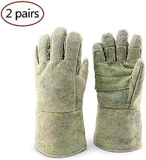 Safety Work Gloves Heat Resistant Welder Gloves Welding GlovesPara-Aramid Extreme Fire Resistant Wear Resistant Grill Fire...