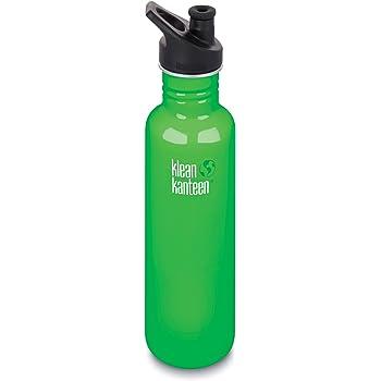800 ml 27 oz Klean Kanteen Classic Bottle in Sierra Sunset with Sport Cap