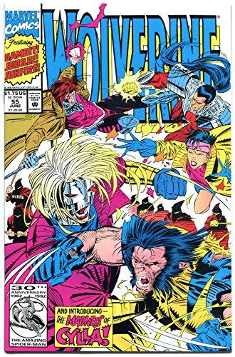 WOLVERINE #55, NM, Marc Silvestri, 1988, Gambit, Jubilee, more in store