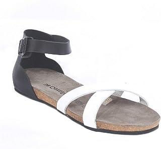 Comfortfüsse Kadın Sandalet Milano 100% Doğal Mantar Taban%100 Hakiki Deri
