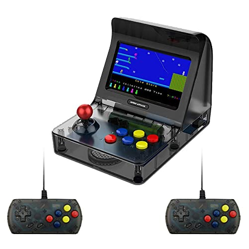 DroiX RetroGame RS-07 PRO Arcade with Controllers and Power adapter Portable Mini Arcade Retro Gaming Console Classic Arcade Games Retro Emulator