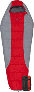 Coleman Brazos Cold Weather Sleeping Bag REDCAMP Cotton Flannel Sleeping Bags for Camping, 3-Season Warm and Comfortable Adult Sleeping Bag, Envelope with 2/3/4lbs Filling TETON Sports Tracker 5 Lightweight Mummy Sleeping Bag; Great for Hiking, Backpacking and Camping; Free Compression Sack