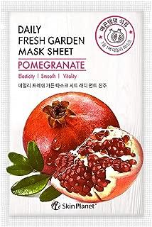 Skin Planet Daily Fresh Garden Mask Sheet - Pomegranate (Pack of 5)