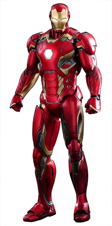 Hot Toys ss902424Mastab 1  6 Iron Man Mark XLV Avengers Age of Ultron Spielzeug