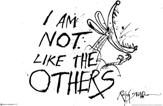 I Am Not Like The Others - Ralph Steadman Poster 36 x 24in