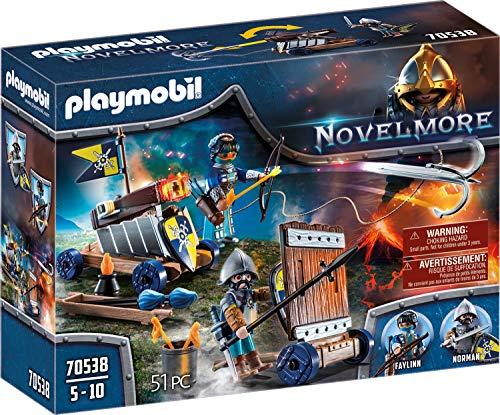 PLAYMOBIL Novelmore 70538 Angriffstrupp, Für Kinder von 5-10 Jahren