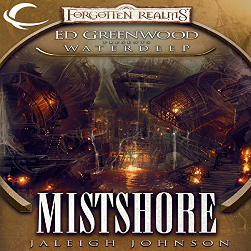 Mistshore audiobook cover art