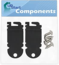 4-Pack W10195416 Lower Dishwasher Wheel Replacement for Maytag MDB8949SBM3 Dishwasher Compatible with W10195416V Dishwasher Wheel UpStart Components Brand