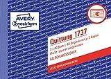 AVERY Zweckform 1737 Quittungsblock weiß