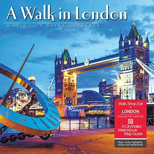 A Walk in London 2021 Wall Calendar (A Walk In 2021 Calendars)