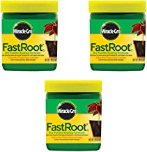 Miracle-Gro FastRoot Dry Powder Rooting Hormone Jar, 1-1/4-Ounce (3 Pack)